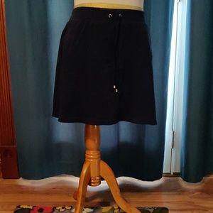 Navy blue skort size XL